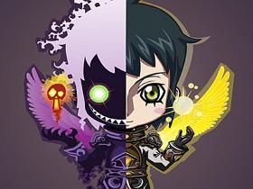 【魔獸世界】【暴雪美術館】Fan Art:光明與黑暗的化身