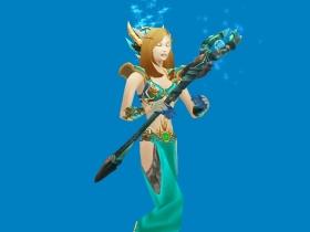 【魔獸世界】【試衣間】英雄聯盟Cosplay:風暴女神,珍娜