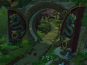【魔獸世界】【暴雪美術館】《潘達利亞之謎》遊戲一景
