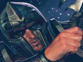 【魔獸世界】【暴雪美術館】卡牌遊戲美術圖:煞氣的鋼匠約瑟夫‧卡洛