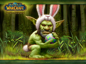 【魔獸世界】【桌布下載】你今年撿蛋蛋了嗎?