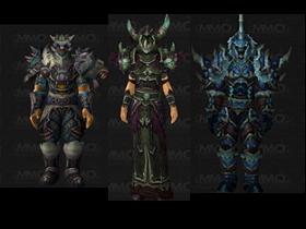 【魔獸世界】【5.0】PVP套裝:死亡騎士、獵人、術士職業第12季套裝模組