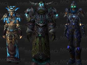 【魔獸世界】【5.0】死亡騎士、薩滿與盜賊T14套裝模組預覽