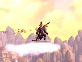 【魔獸世界】【5.0】博學行者聲望坐騎:圓盤筋斗雲!