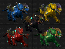 【魔獸世界】【5.0】珠寶學新坐騎:五色獵豹製作情報