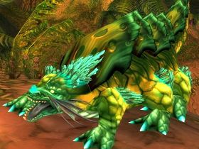 【魔獸世界】【5.0】獵人馴獸新品種:蜥蝪