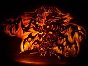 【魔獸世界】【暴雪美術館】2012萬聖節南瓜雕刻大賽獲勝作品集