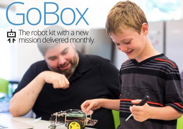 GoBox教育用機器人硬體不稀奇,每月更新課程才是賣點