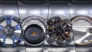 這些廠商正在開發的智慧輪胎,看上去像被火種源附身