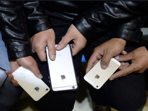 另類打工度假?中國旅客帶4支山寨iPhone 6來台,邊玩邊賣台灣人山寨機