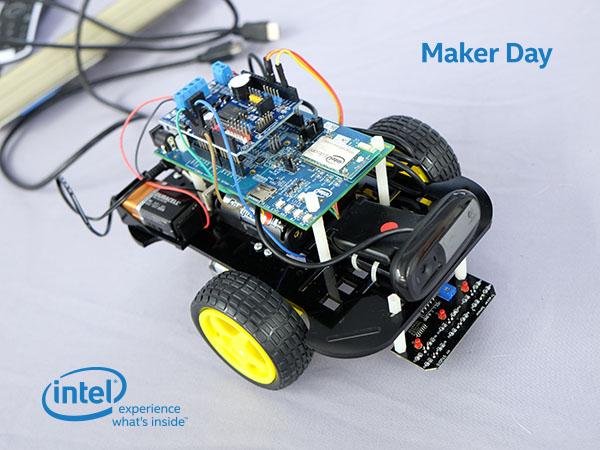 【Maker Club】好評再加開!Intel Edison Wi-Fi 無線遙控攝影車實作坊--新竹,我們來了!