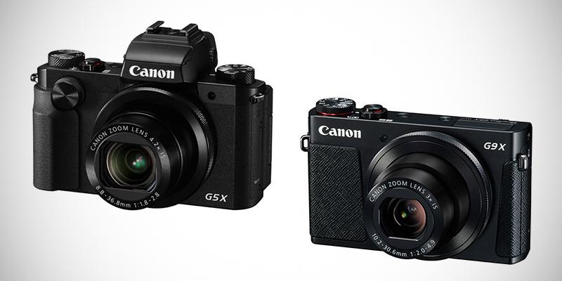 Canon 一吋感光元件新軍登場:PowerShot G9X 與 G5X 即將上市
