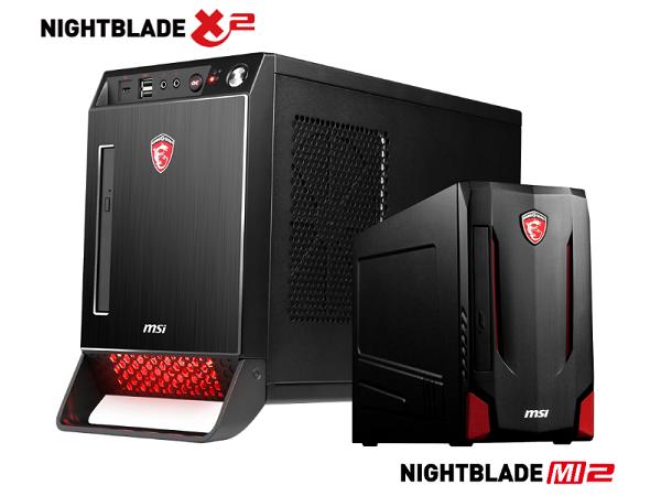 MSI 將推出 NightBlade X2、MI2 電競桌機,全面換裝 Skylake 平台