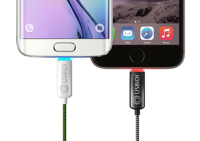 支援快充、自動斷電,還有聰明收納功能的UsBidi傳輸線