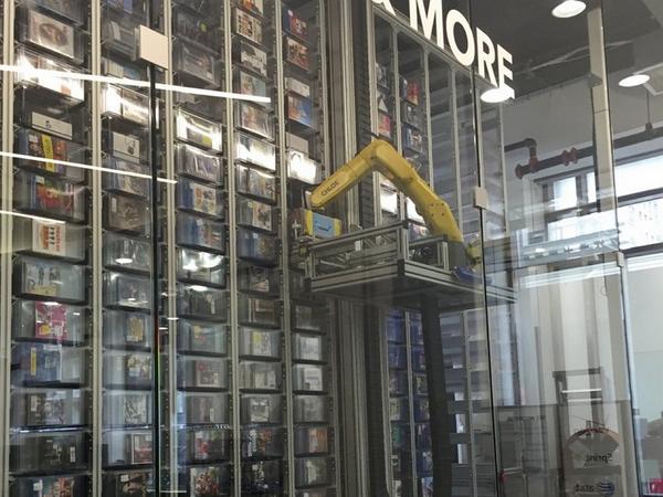 挑高三層樓,這是全世界最大的自動販賣機