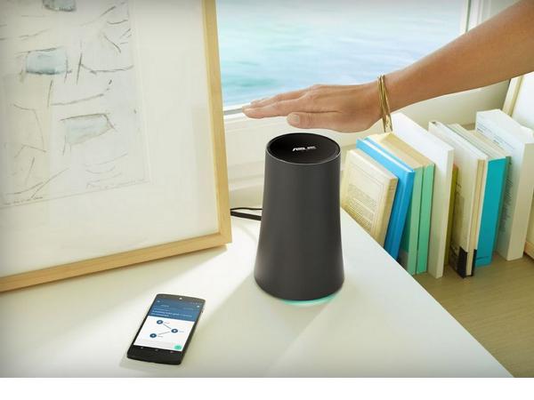 Google聯手Asus,推出新款OnHub無線路由器並加入手勢控制功能