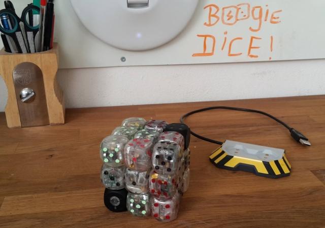 不是賭神也能遙控骰子,智慧骰 Boogie Dice 讓你兩秒變高進