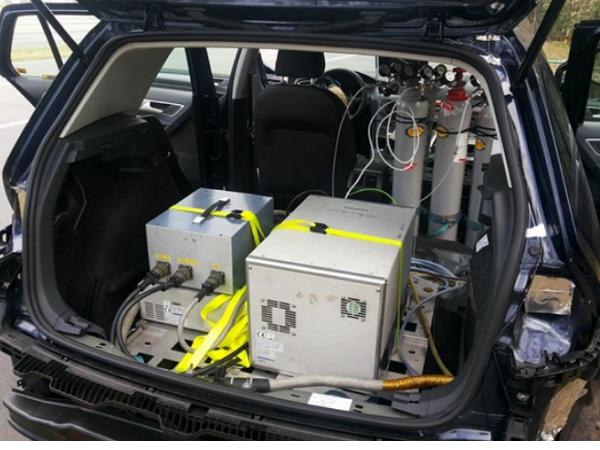 環保署公布福斯柴油車道路實車排氣測試超標4至6倍,但卻符合國內排放標準?