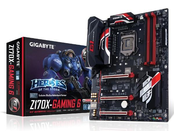 技嘉推出 GA- Z170X-Gaming 6 主機板,定位劃分更精細