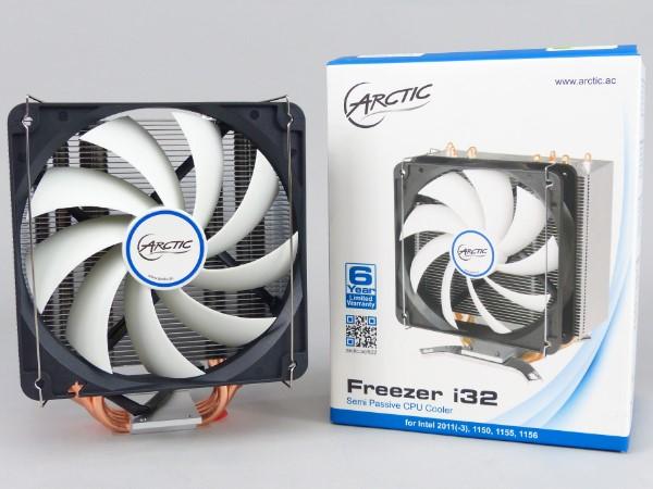 半被動式散熱噪音低,ARCTIC Freezer i32 散熱器上機實測