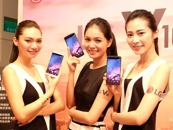 雙螢幕 LG V10 上市,主打攝錄功能售價 23,900 元