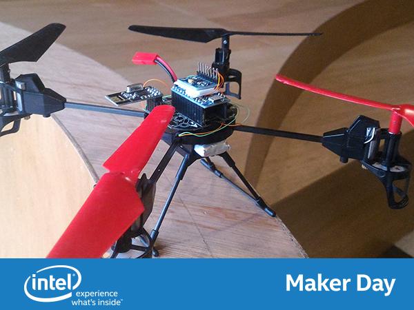 【Maker club】Intel Edison 人臉辨識、 WiFi遙控攝影無人機實作坊,用飛行原理、人臉辨識、網頁設計一起造飛機!