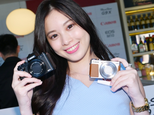 Canon 一吋感光元件復古機 PowerShot G5X、G9X 上市動手玩