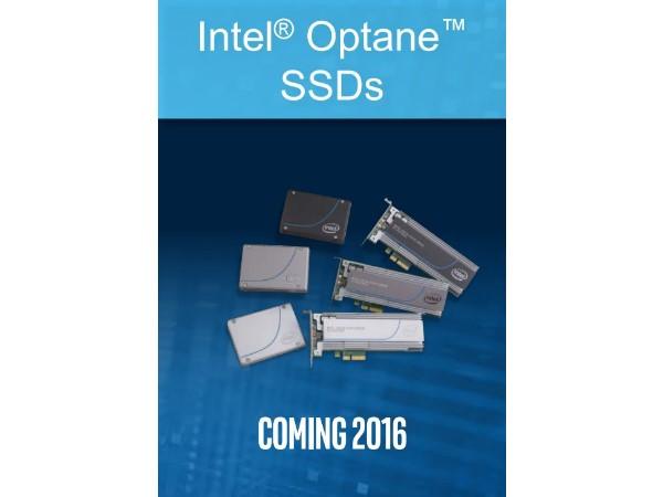結合 3D XPoint 記憶體瞄準高階玩家,Intel 最速固態硬碟 Optane 明年到來