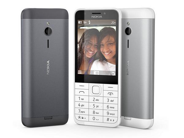 微軟推出 Nokia 230 功能手機,2百萬畫素相機、價格不到台幣兩千元