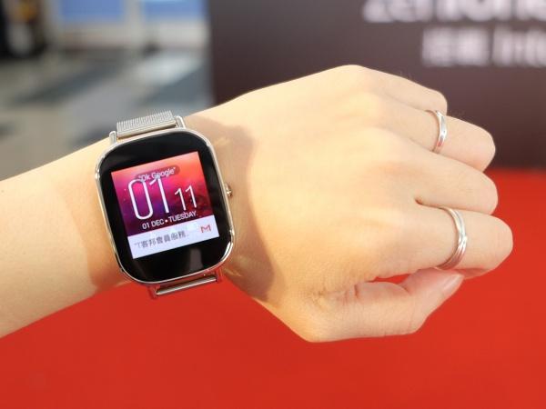 ZenWatch 2 手戴實測:續航力再提升、iPhone 也可以玩