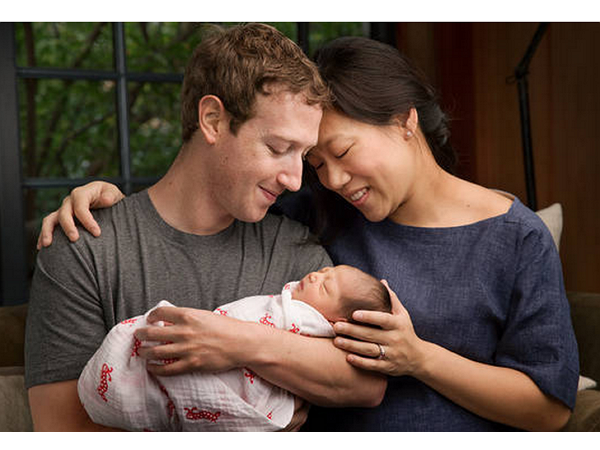 FB執行長祖克伯迎來了第一個孩子,卻捐出了99%的Facebook股份
