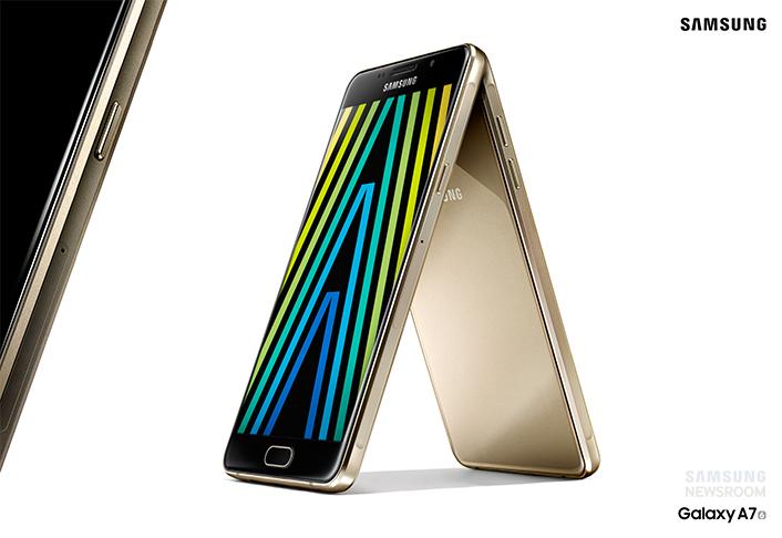 三星推 Galaxy A 系列 2016 年版新機,支援 Samsung Pay 行動支付