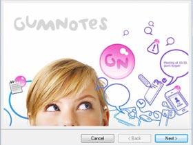 Gumnotes,把便利貼嵌在檔案上