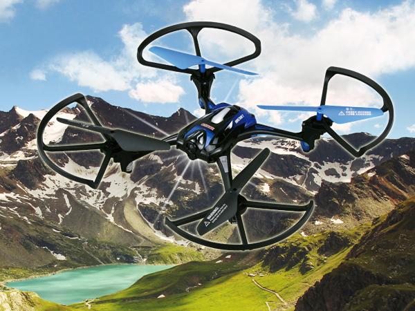 【雜誌合購優惠】X-series 2.4G鷹眼四軸飛行器,滿足你展翅高飛的渴望
