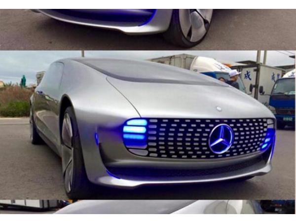 賓士超前衛概念車現身台灣路邊?告訴你它為什麼被稱為神車!