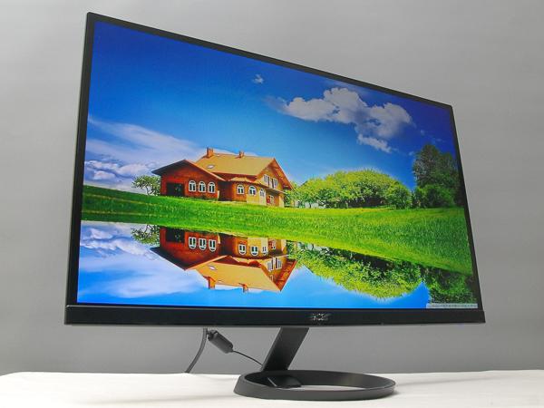 不閃頻、濾藍光,6.6mm 超薄 27 吋 IPS 液晶螢幕 Acer R271H 實測
