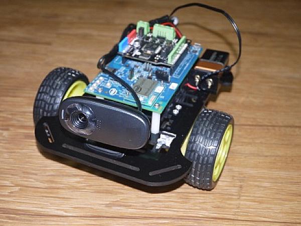 Intel Edison Wi-Fi 無線遙控攝影車實作