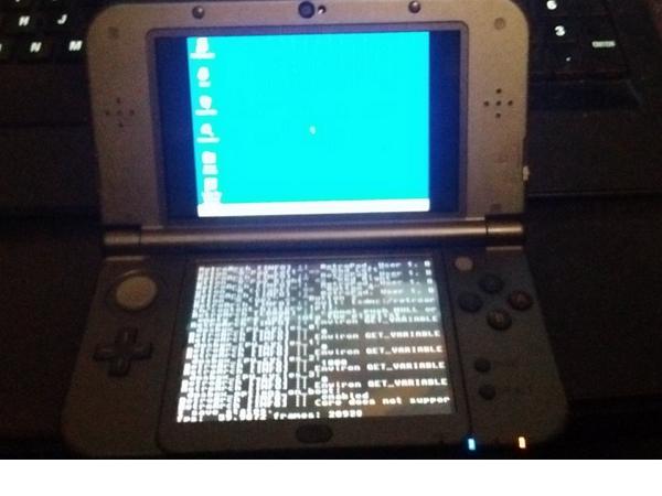Windows 95不死魂!玩家在任天堂3DS掌機成功跑起Windows 95