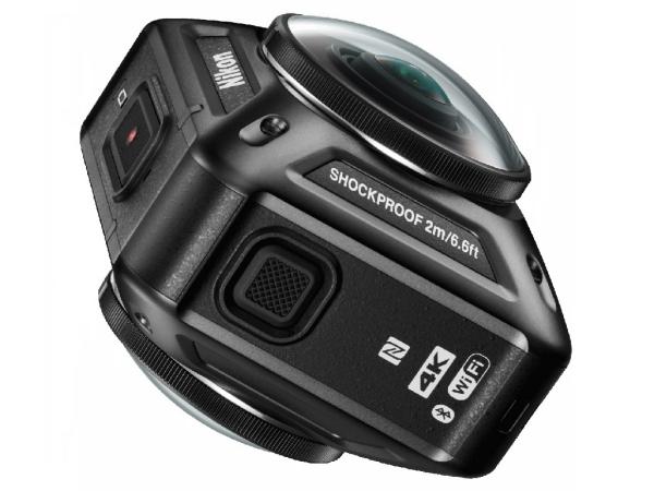 Nikon 推出 KeyMission 360 加入全景運動相機與 VR 戰局