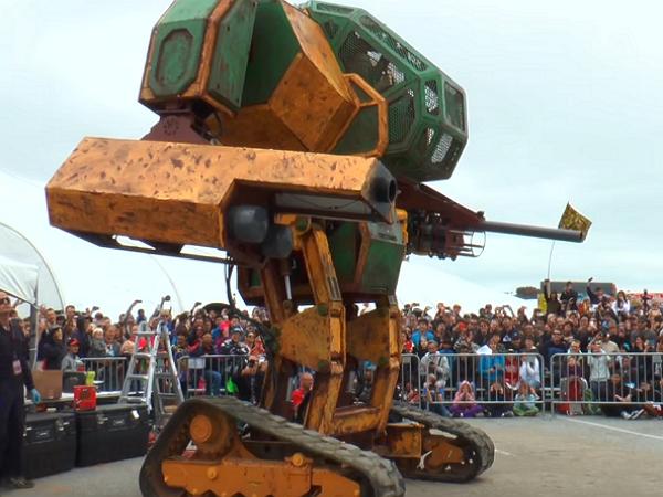 還記得美日機器人大戰嗎?美方機器人MegaaBots 再度現身