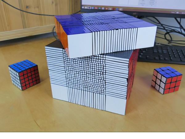 浩克級魔術方塊!如果你有3D印表機也可以自己做一個