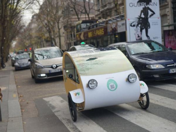 太陽能「人」電混合車,都市通勤新面貌