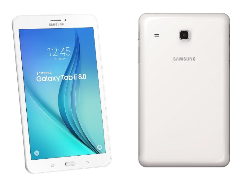 三星推 Galaxy Tab E 8.0 入門平板,主打 5,000mAh 高續航