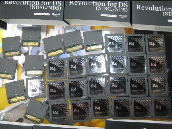 官司打了六、七年,任天堂終於告贏R4盜版燒錄卡