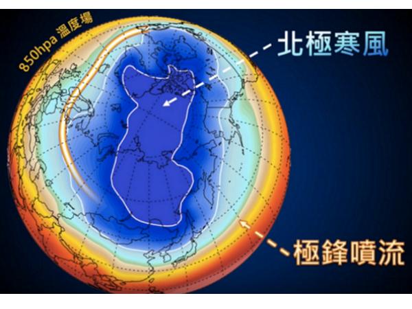 霸王級寒流來襲,氣象局三分鐘影片讓你理解何謂「北極振盪」
