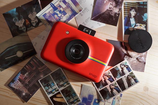 色彩繽紛拍立得 Polaroid SNAP:即拍即印,還能數位存檔