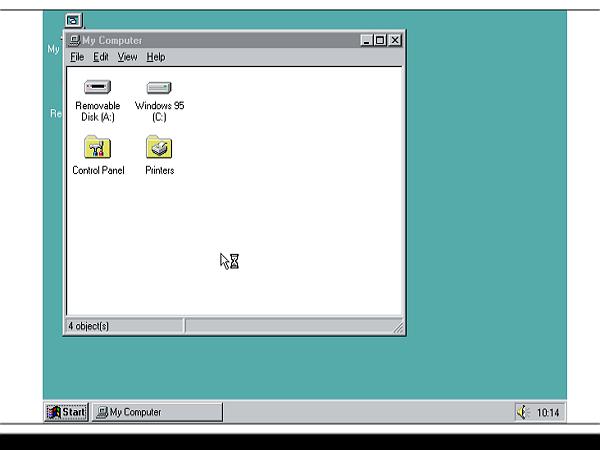 這個網站幫你當場把Windows 95灌到瀏覽器裡頭