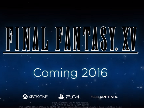 《Final Fantasy XV》中文版確認2016年全球同步上市