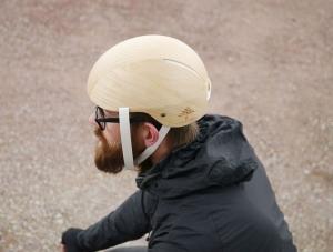 新潮「木製」單車安全帽,環保工業新主張
