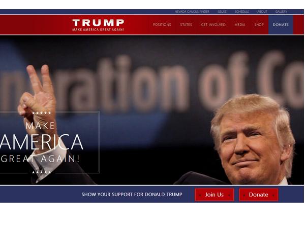 美國總統初選參選人Jeb Bush很鬱悶,自己名字的網址遭人買下導向對手川普網站